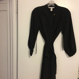 DVF versatile black dress